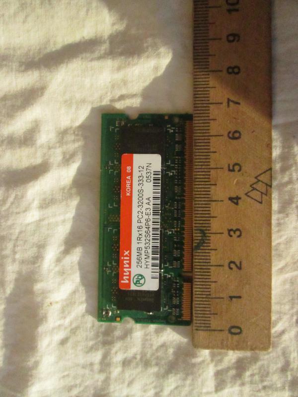 Память оперативная для ноутбука DDR2 SODIMM 256MB