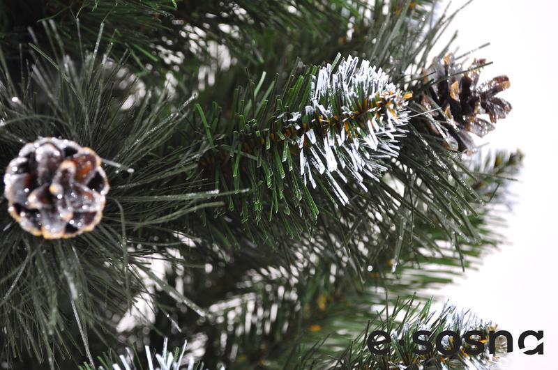Искусственная елка Европейская с шишками 100 см - Фото 2