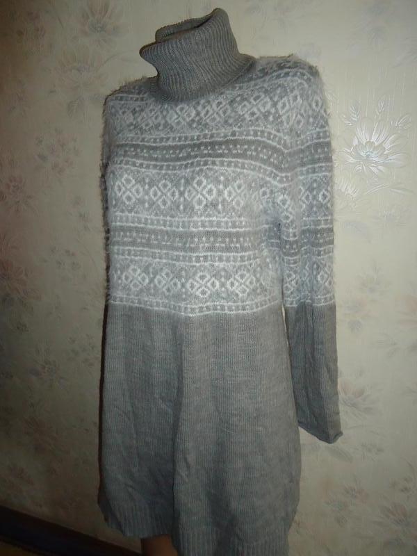 Платье вязаное р46-48