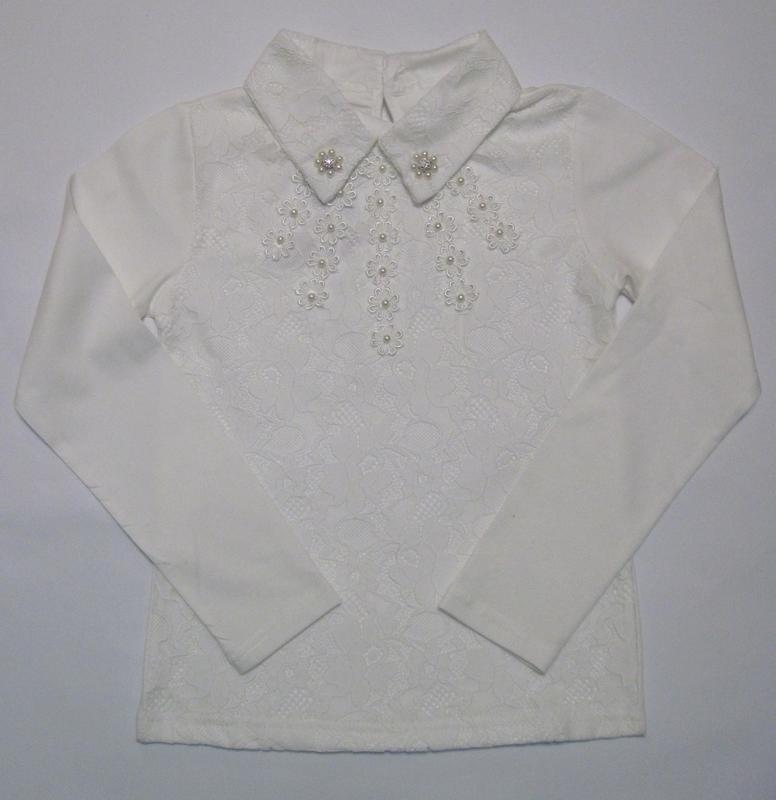 Детская блуза на девочку (120 см - 150 см)