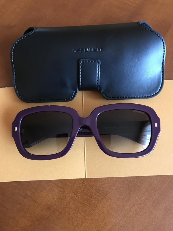Очки yves saint laurent оригинал стильный модный дорогой бренд