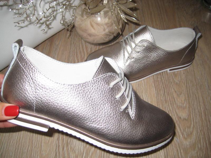 Туфли, натур. кожа, весна
