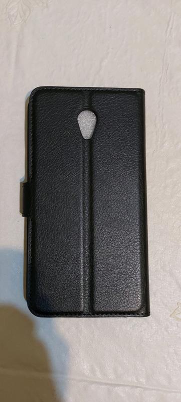 Чехол книжка Meizu M6 Note black - Фото 2