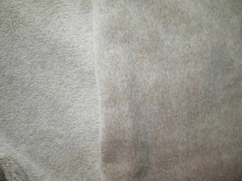 Плюшевые теплющие пижамные домашние брюки цвета капучино высок... - Фото 9