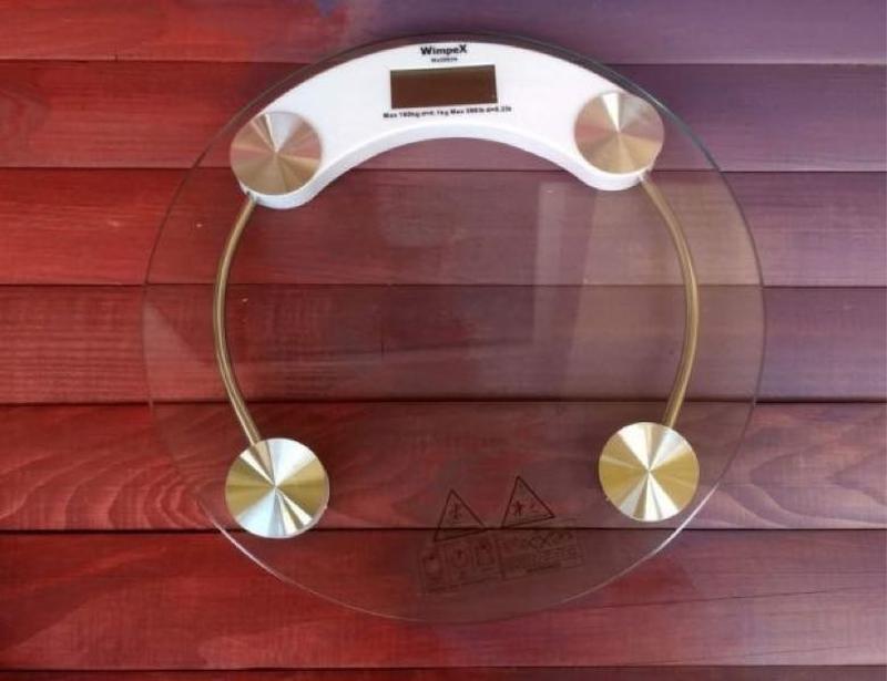 Весы Напольные Круглые Стеклянные До 150 кг ACS 2003A - Фото 8