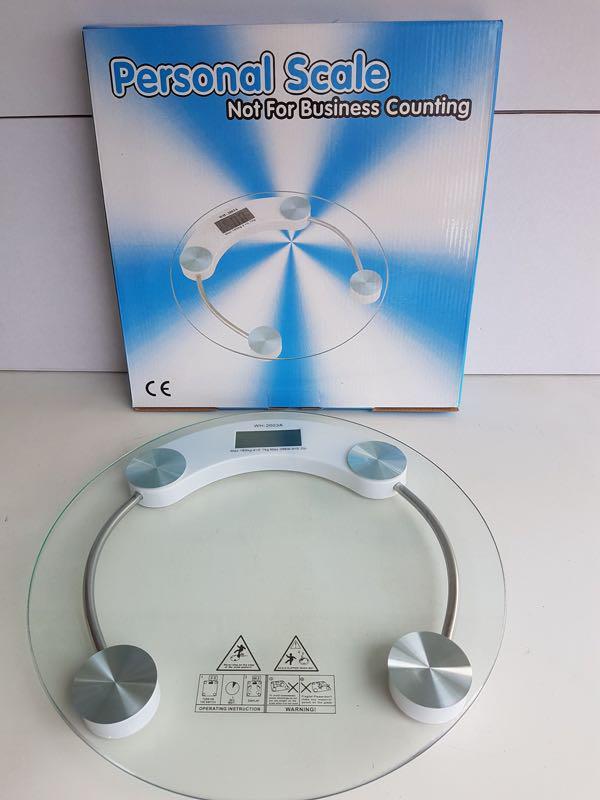 Весы Напольные Круглые Стеклянные До 150 кг ACS 2003A - Фото 5