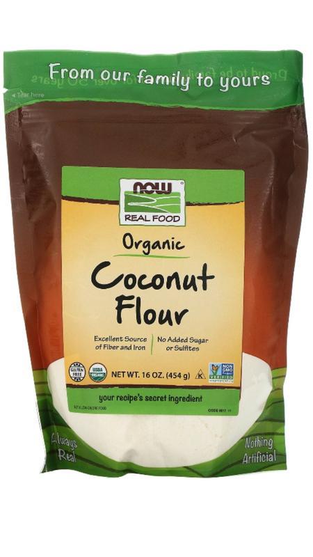 Кокосовая мука Now Foods (США)