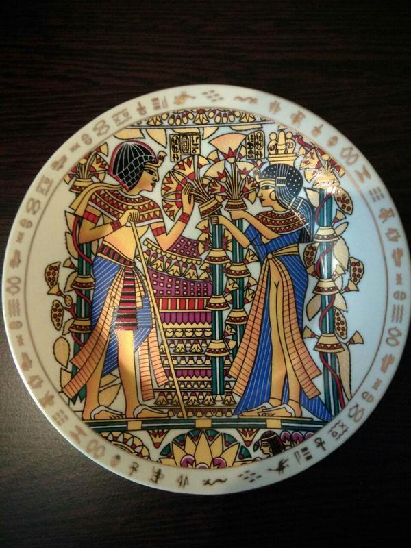 Тарелка на стену