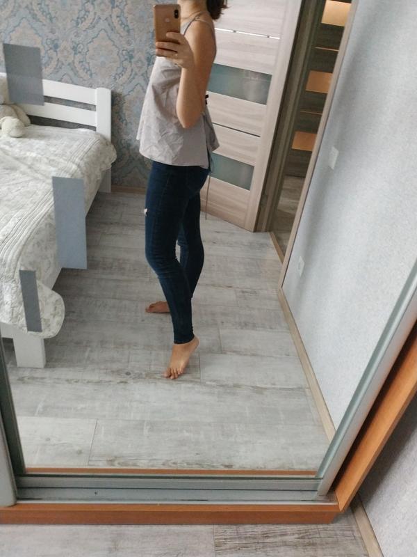 Красивая атласная блуза в бельевом стиле с красивой спинкой - Фото 5