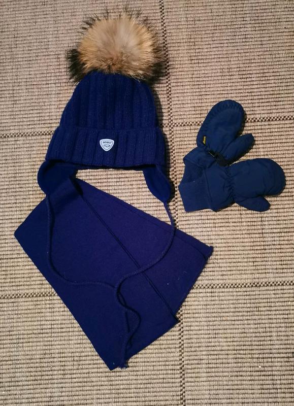 Шапка шарф рукавички