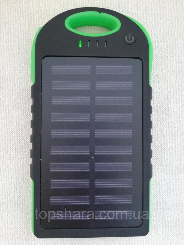 Портативное зарядное Power Bank Solar 50000 mAh на солнечной бата - Фото 9