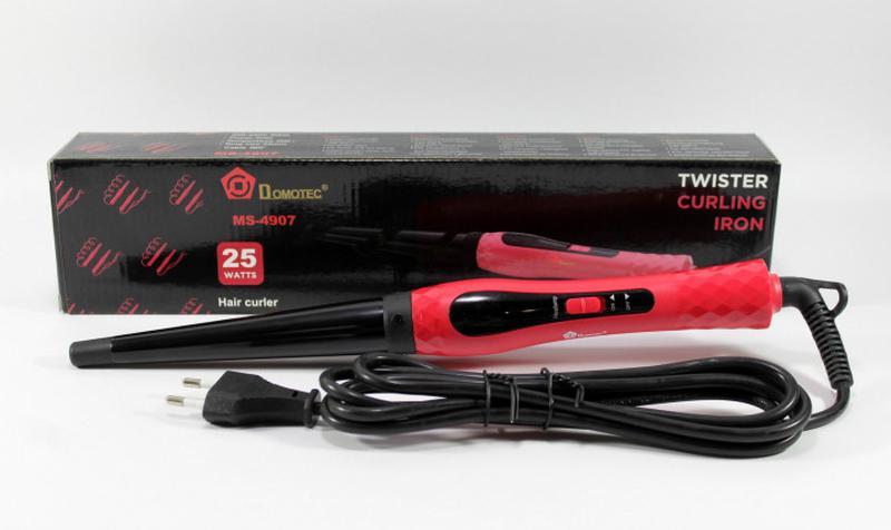Конусная плойка Domotec MS-4907 для завивки волос MS 4907