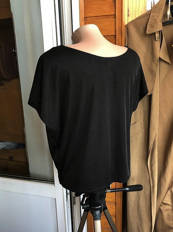 Обалденная футболка oversize new look (блуза) - Фото 4