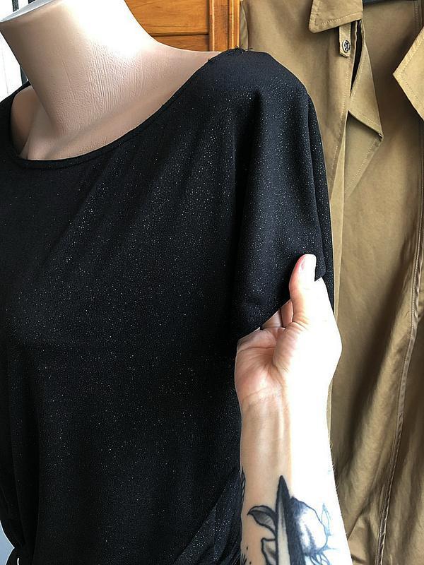 Обалденная футболка oversize new look (блуза) - Фото 5