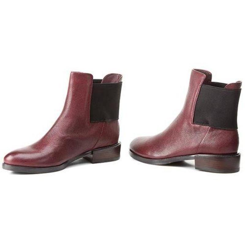 Clarks ботинки челси цветf марсала 38,5-39