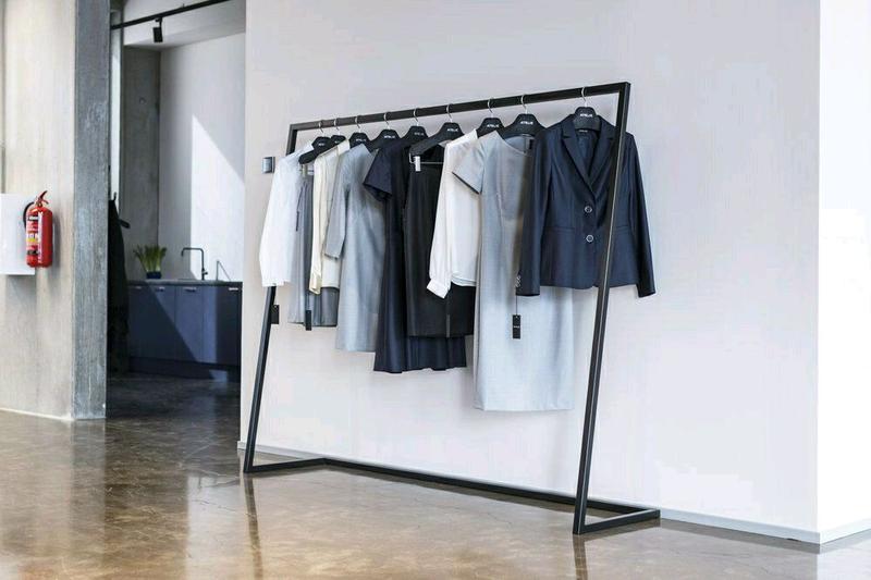 Вешалка рейл, стойка для одежды, вішалка стійка для одягу