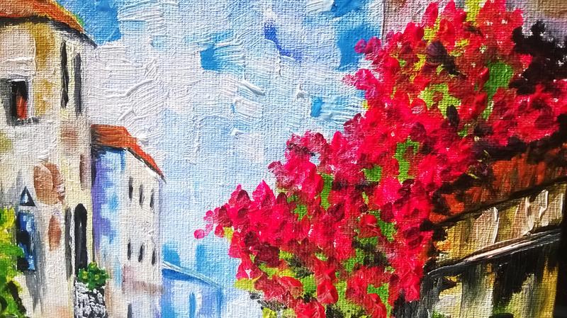 Картина маслом 20х30 Венеция - Фото 8