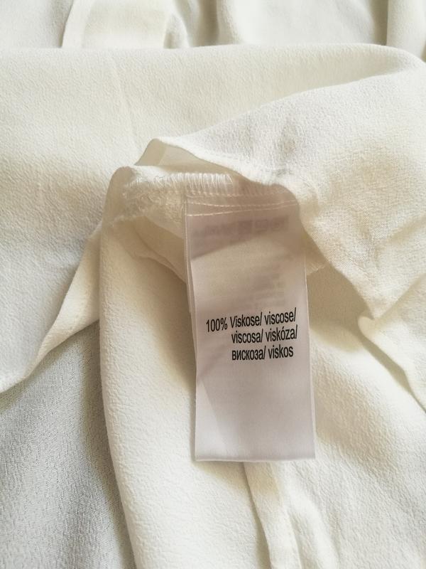 Белоснежная вискозная блуза,туника - Фото 6