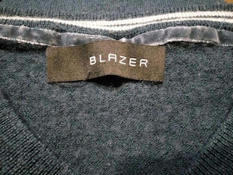 Blazer .50% merino wool . свитер джемпер пуловер . шерсть мери... - Фото 4