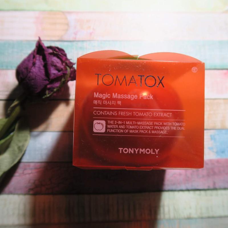 Томатная маска tony moly tomatox magic white massage pack - Фото 3