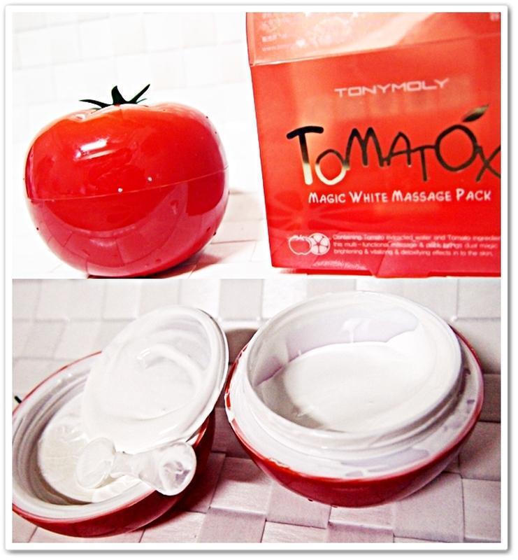 Томатная маска tony moly tomatox magic white massage pack - Фото 5