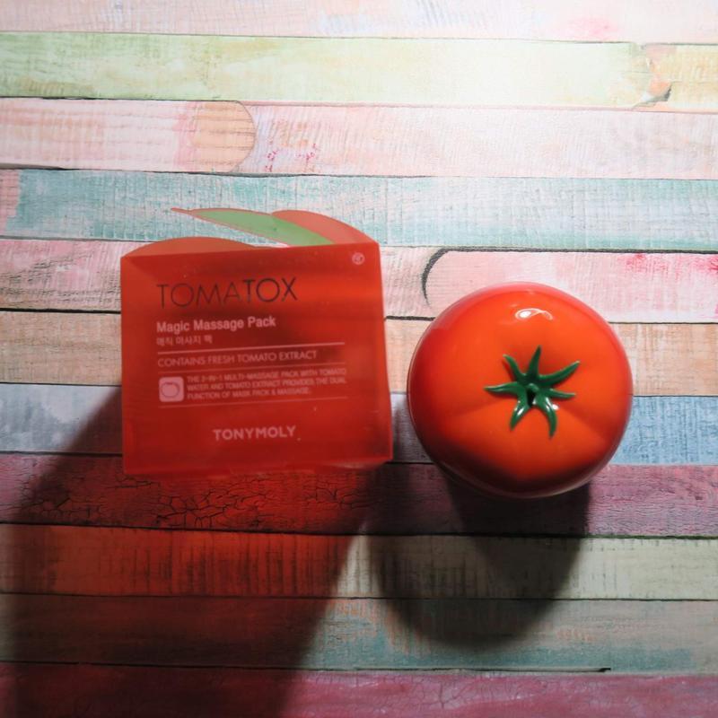 Томатная маска tony moly tomatox magic white massage pack - Фото 6