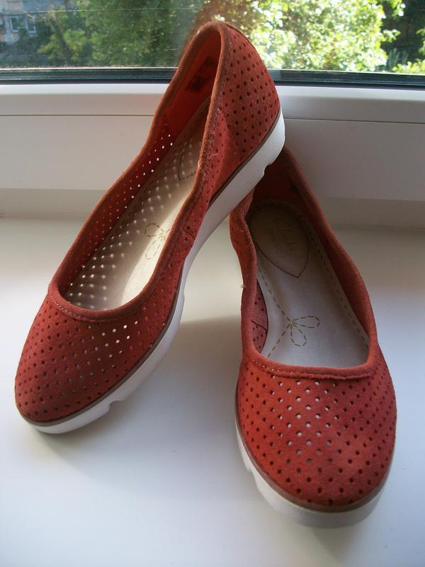 Туфли женские натуральная кожа clarks р.35
