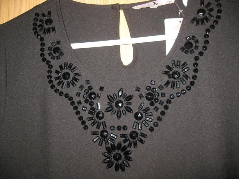 """Новая черная блузка """"tu"""" р.48 - Фото 5"""