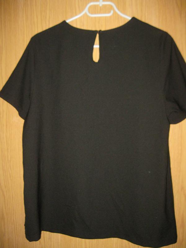 """Новая черная блузка """"tu"""" р.48 - Фото 6"""