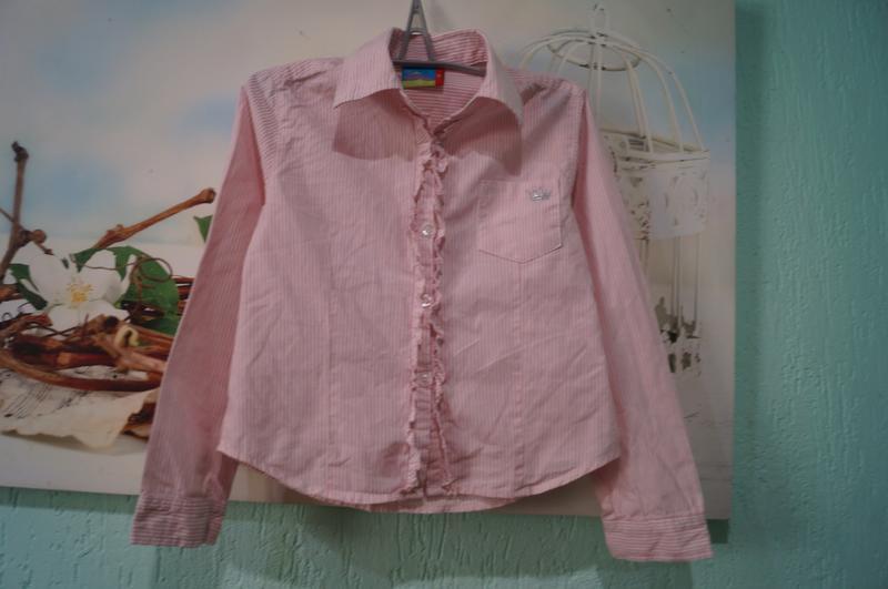Рубашка на девочку,рост 110 см - Фото 3