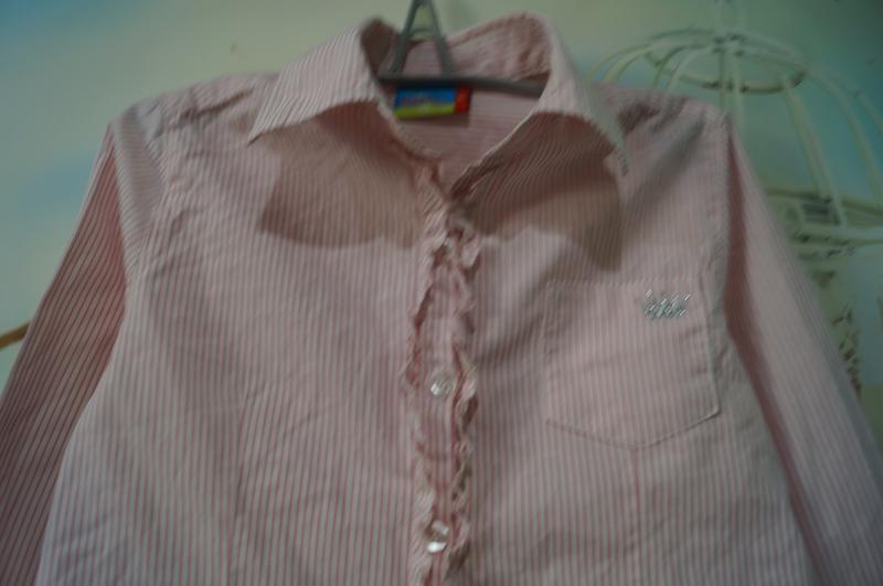 Рубашка на девочку,рост 110 см - Фото 4