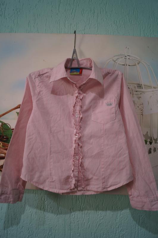 Рубашка на девочку,рост 110 см - Фото 5
