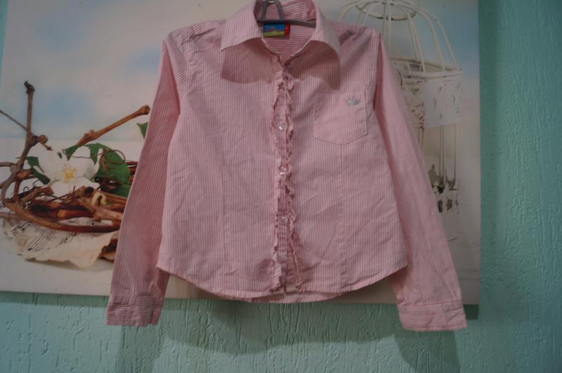 Рубашка на девочку,рост 110 см - Фото 7
