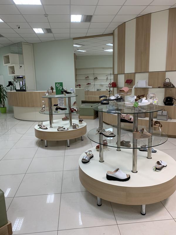 Оборудование для обувного магазина