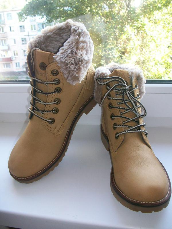 Ботинки женские натуральная кожа wrangler р.40
