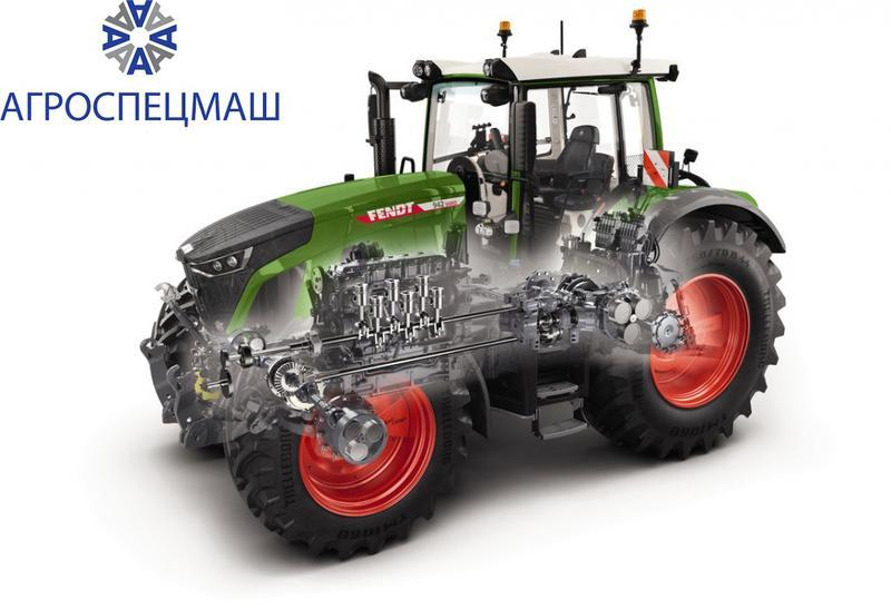 Капитальный ремонт кпп трактора Fendt (Фендт)