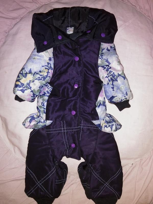 Комбинезон для собачки-девочки, комбенизон, одежда, костюм - Фото 5