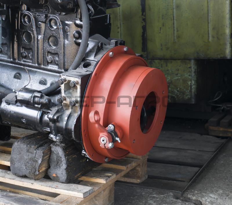 Переходной кожух для установки двигателя МАН MAN 0826 на ЗИЛ 130