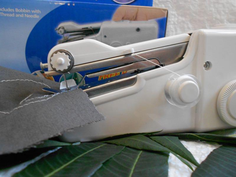 Швейная мини-машинка HANDY STITCH, ручная швейная машинка - Фото 3