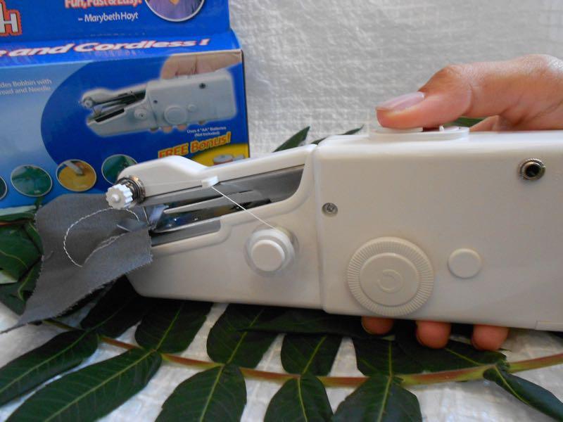 Швейная мини-машинка HANDY STITCH, ручная швейная машинка - Фото 6