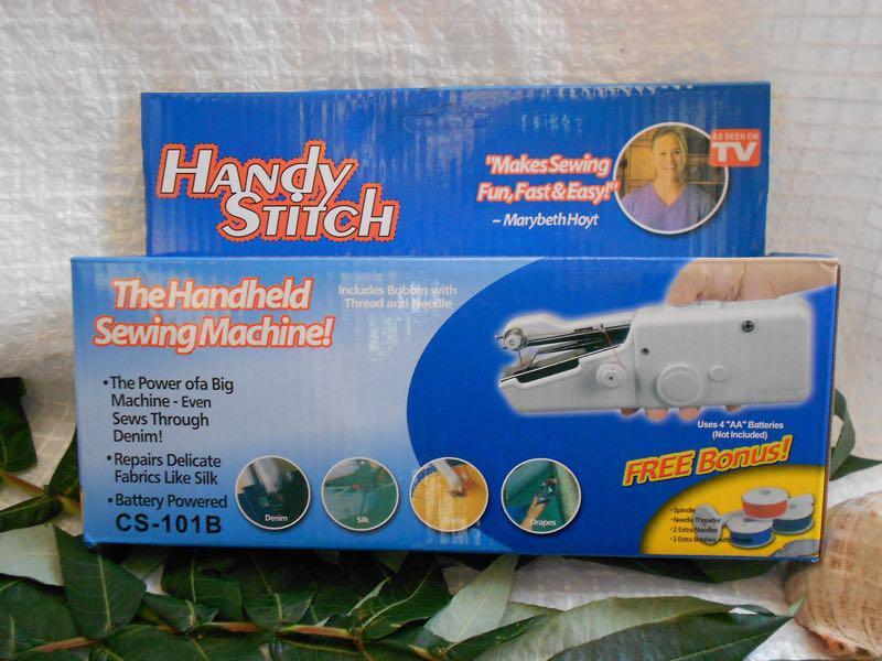 Швейная мини-машинка HANDY STITCH, ручная швейная машинка - Фото 7