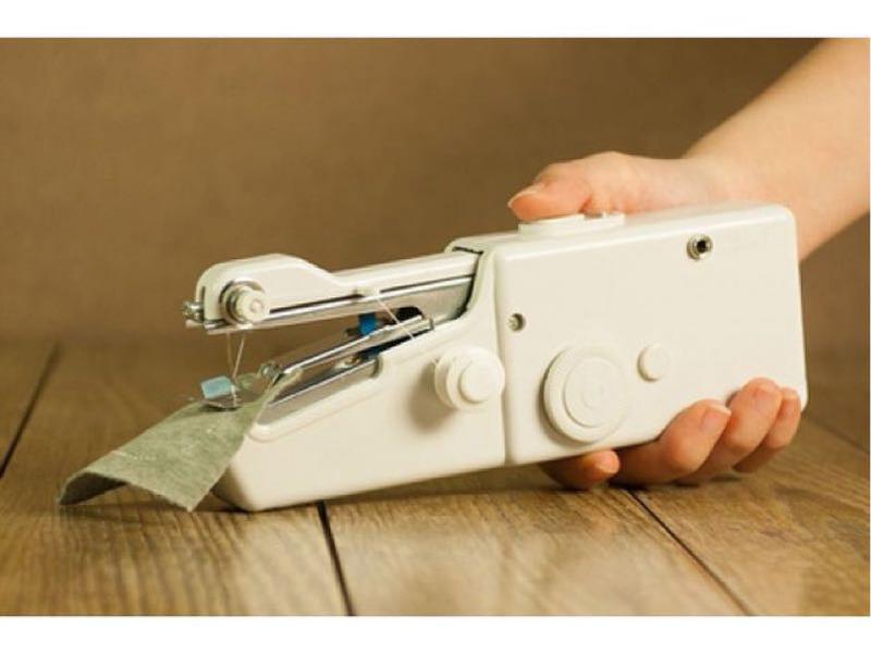 Швейная мини-машинка HANDY STITCH, ручная швейная машинка - Фото 8