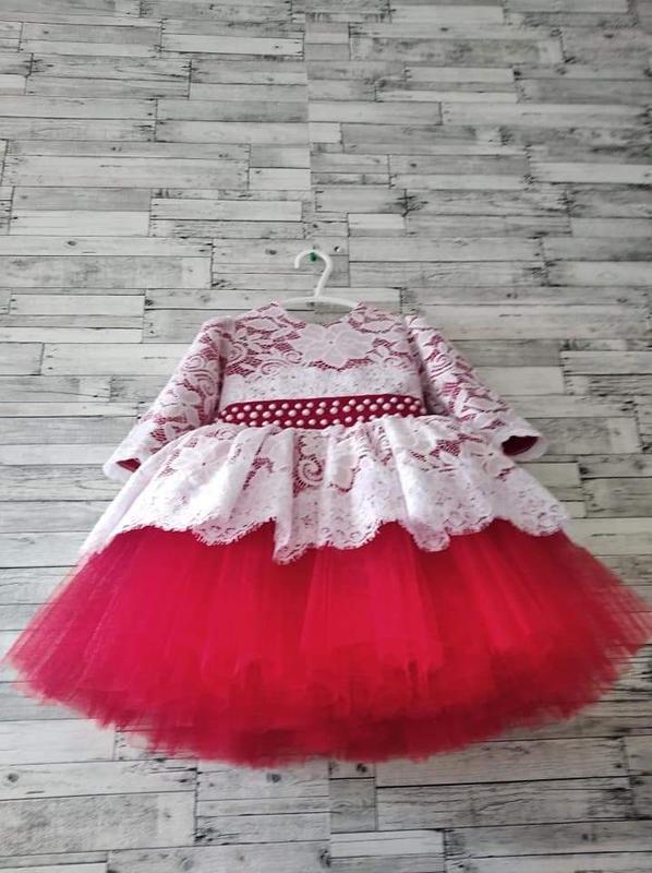 Праздничное нарядное платье детское для девочки