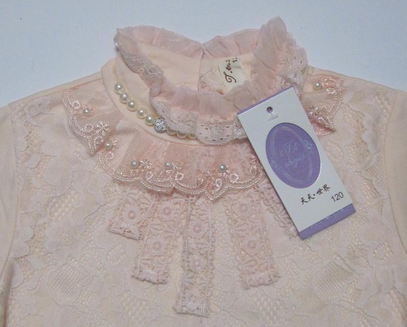 Детская блуза на девочку (120 см - 150 см) - Фото 3