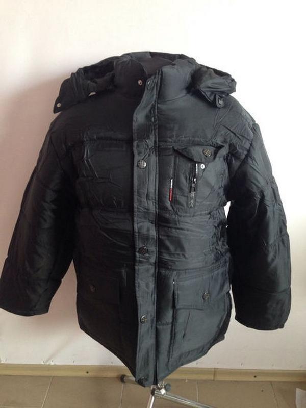 Зимова тепла куртка для чоловіків, xl.