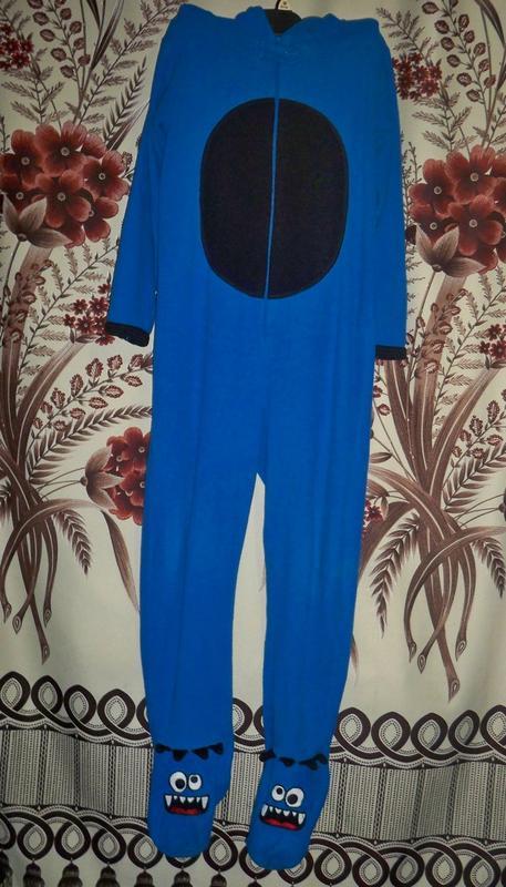 Фирменная пижама-слип кигуруми primark essentials, 11-12, футу...