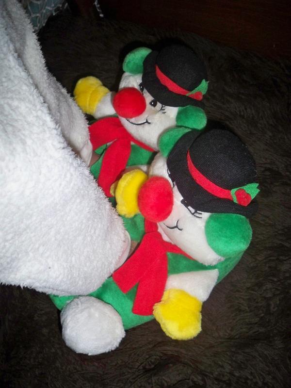"""Фірмові теплі домашні тапки-м""""які іграшки клоуни, 36-39."""