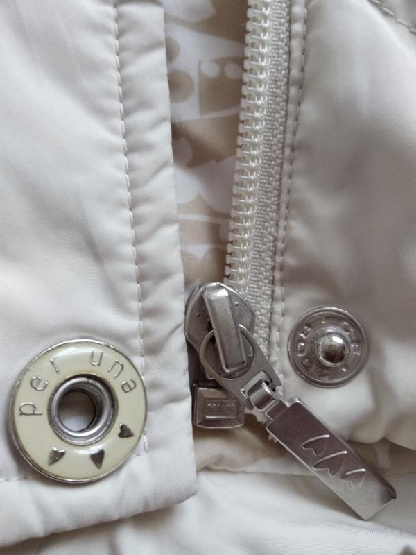 Пуховик per una размер 46-48,беж - Фото 4