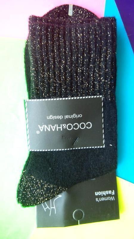 Носки женские ангора отличное качество оригинальный дизайн - Фото 2