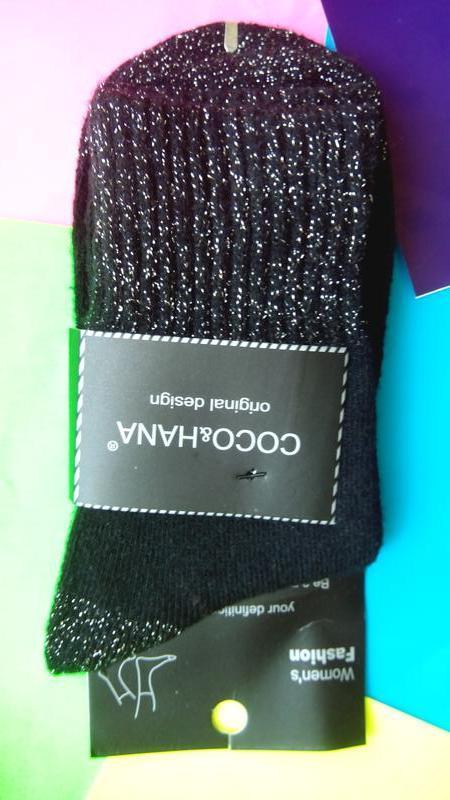 Носки женские ангора отличное качество оригинальный дизайн - Фото 3